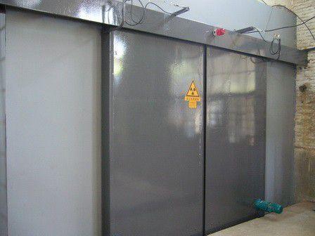 霍山电动防辐射铅门